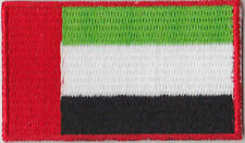 United Arab Emirates UAE Country Flag Embroidered Patch T4