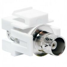 Keystone Module Jack 75 Ohm BNC Female to Female Connector