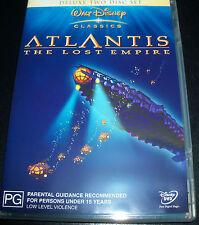 Atlantis The Lost Empire Walt Disney (Australia Region 4) 2 DVD - Like New