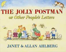 The Jolly Postman by Allan Ahlberg Novelty Book With Mail - Complete, Like NEW