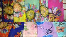 Joblot 20 pcs Mixed colour Flower design scarf wholesale 160x70 cm Lot 24