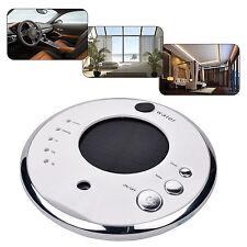 Solar Power Air Purifier Ionizer Anion Diffuser Humidifier Car Home Hotel Silver