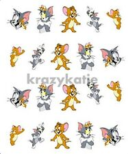 Tom and Jerry 20 pcs Disney Cartoon Water Transfer Nail Art Decal Sticker