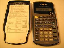 *Working* TI 30XA Scientific CALCULATOR .. [j14]