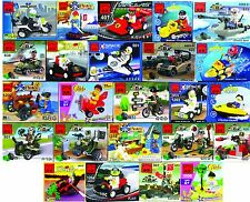 Lot of 15 kinds Mini sets Building Toys all new bricks City Police series new