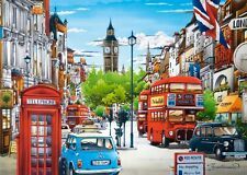 NEW! Castorland London 1500 piece colourful city scene jigsaw puzzle