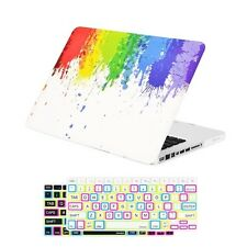 "Paint Splash Rubberized Case+ 2 Keyboard Covers for MacBook Pro 13"" Model: A1278"