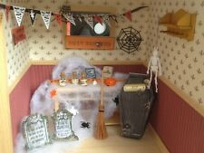 Maison de poupées miniature 12th échelle-décoration halloween set