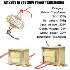 AC 220V To 24V 30W Power Transformer Power Supply For Machine Mainframe Computer