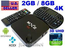 2017 MXIII MX3 QUAD 2GB 8GB 4K WIFI SMART ANDROID TV BOX KODI XBMC 3D 1080P NEW