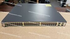 Cisco WS-C3750G-48PS-S IP Services PoE Gigabit switch 3750G-48PS-S 3750G-48PS-E