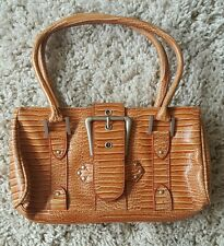 orange snake effect River Island handbag
