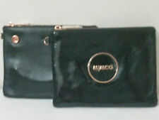 Mimco Duo Mim Pouch Wallet Makeup  Clutch Brand New with Tags Dust Bag Black