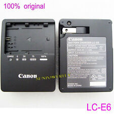 Genuine Original Canon LC-E6 LC-E6E Charger for LP-E6 LP-E6N EOS 5D Mark III 60D