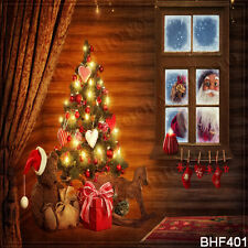 Christmas 10'x10' Computer/Digital Vinyl Scenic Photo Background Backdrop BHF401