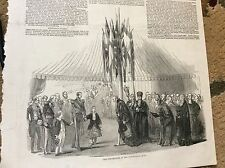 m4-7 ephemera 1849 picture royal trip london custom house quay albert