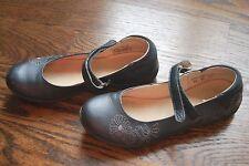 Umi Girls Shoes Leather Navy Mary Jane size 34 US 2