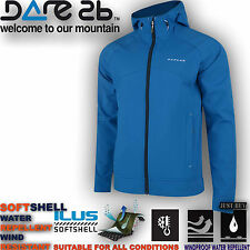 Dare2b Jacket Softshell Windproof Revelry Outdoor Hiking Walking Running Gym Top