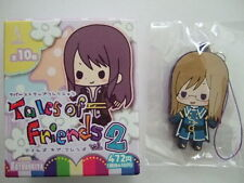 Jade Curtiss Rubber Strap Key Chain Tales of The Abyss TOA Friends #2 KOTOBUKIYA