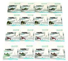 16 Päckchen Top Haken von Balzer Camtec - Angelhaken mit Vorfach Sortiment