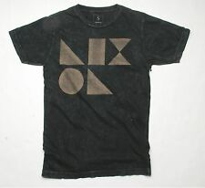 Nixon Dieter Short Sleeve Tee T-Shirt (S) Black