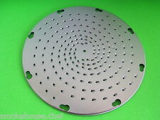 3/32 FINE Cheese Shredder Disc for Hobart Univex mixer Pelican Head Shredder