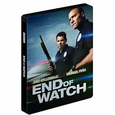 End of the Watch Blu-ray SteelBook, Comes with Region A disc