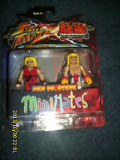 MINIMATES STREET FIGHTER X TEKKEN KEN vs STEVE   ACTION FIGURE 2 PACK