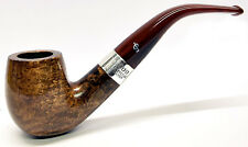 Peterson Special Silver Mounted Grafton Bent Briar Pipe with Free Pipe Tool (69)