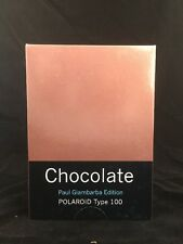 Polaroid Type 100 Chocolate Pack Peel-Apart Instant Film - Rare - Paul Giambarba