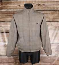 Fred Perry Sportswear Men Wool Vintage Bomber Jacket Size 91cm 36'', Genuine