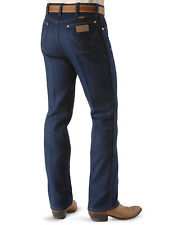 Wrangler Mens COWBOY CUT JEANS - Regular Fit - 42 X 32 - STRETCH JEANS - 947STR