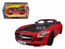 MAISTO EXOTICS MERCEDES-BENZ SLS AMG 1/24 ROADSTER WITH CARBON FIBER HOOD 31370