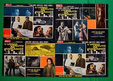 G86 LOTTO FOTOBUSTE L'UOMO VENUTO DA CHICAGO JOHN GARKO AUTO CAR SPIDER