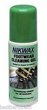 Nikwax Footwear Cleaning Gel for Waterproof Outdoor Sports Footwear Boots 125ml