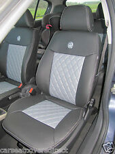 VAUXHALL OPEL ASTRA H DIAMOND STITCHED SEAT COVERS