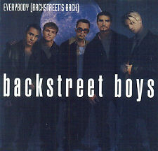 Everybody [Maxi Single] by Backstreet Boys (CD, Mar-1998, Jive (USA))