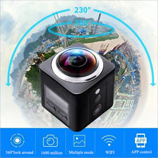 360° Wifi Quad HD DV Cam Waterproof Sports Action Camera Camcorder like Go Pro