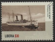 WWI SS/HMS KINFAUNS CASTLE Armed Merchant Cruiser / Minelayer Warship Stamp