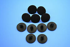 10PCS BMW 3 SERIES BLACK HOLE PLUGS BLANKING GROMMET TRIM SNAP CLIPS
