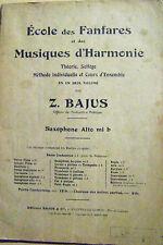 Cours école des fanfares et des musiques d'harmonie Théorie solfège  /H14