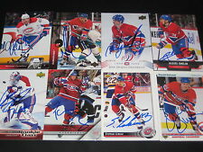 "GILBERT DIONNE autographed SIGNED '94/95 MONTREAL CANADIENS ""Upper Deck"" card"