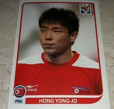 FIGURINA CALCIATORI PANINI SOUTH AFRICA 2010 KOREA HONG YONG JO ALBUM