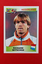 Panini EURO 96 N. 88 NEDERLAND WITSCHGE New With BLACK back TOPMINT!!
