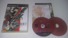 METAL GEAR SOLID 2 SONS OF LIBERTY + DVD - SONY PLAYSTATION 2 - JEU PS2 COMPLET