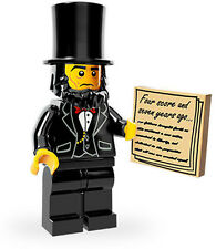 LEGO 71004 Movie Series Minifigure - Abraham Lincoln - New and Mint