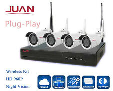 960P Wireless Security Camera System Outdoor Night Vision WIFI CCTV System