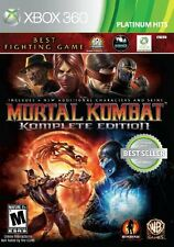 Mortal Kombat: Komplete Edition - Xbox 360 great gift fo ryour child