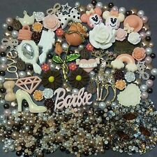 """Vintage"" Style Cabochon Kawaii DIY decoden Phone kit resin flatback Rhinestone"