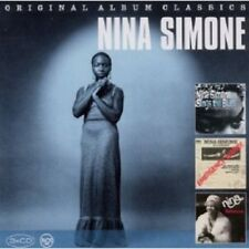 NINA SIMONE - ORIGINAL ALBUM CLASSICS (SINGS BLUES,E. WARD,BALTIMORE) 3 CD NEU